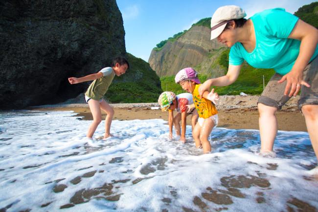 最優秀13-1五十嵐 豊_嬉しい楽しい!奥尻島での家族の夏休み