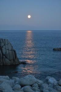 入賞53-2北爪千景 長浜から望む中秋の名月