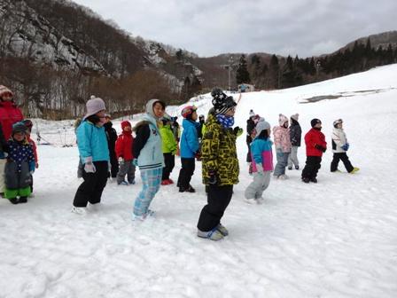スキー会場