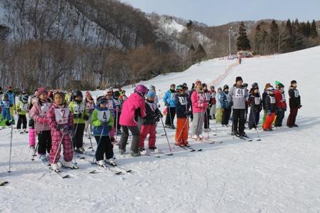町民スキー大会が開催されましたtags[北海道]