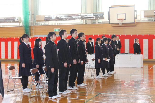 3月は卒業式・・tags[北海道]