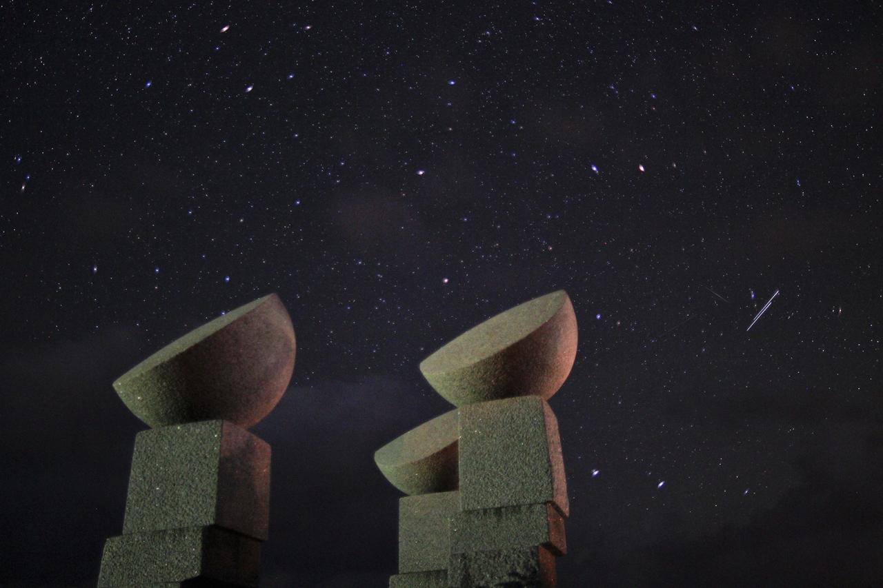 北追岬公園の星空